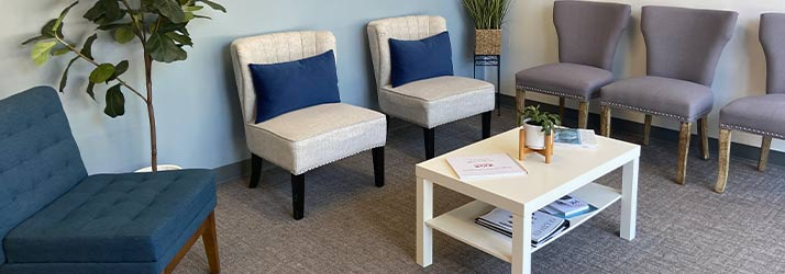 Chiropractic Clemmons NC Waiting Room