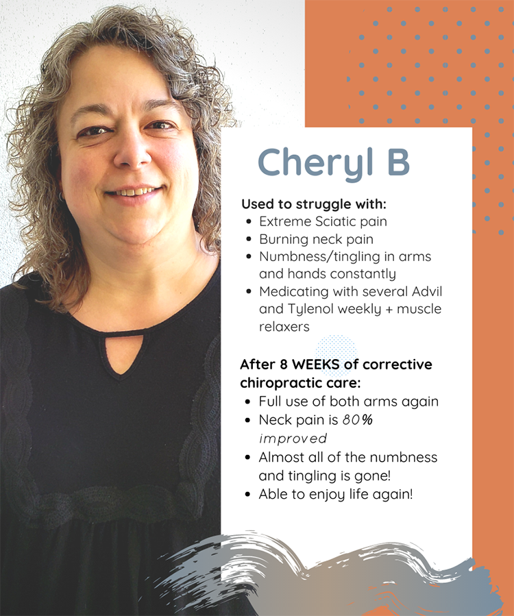 Chiropractic Clemmons NC Patient Testimonial Cheryl B