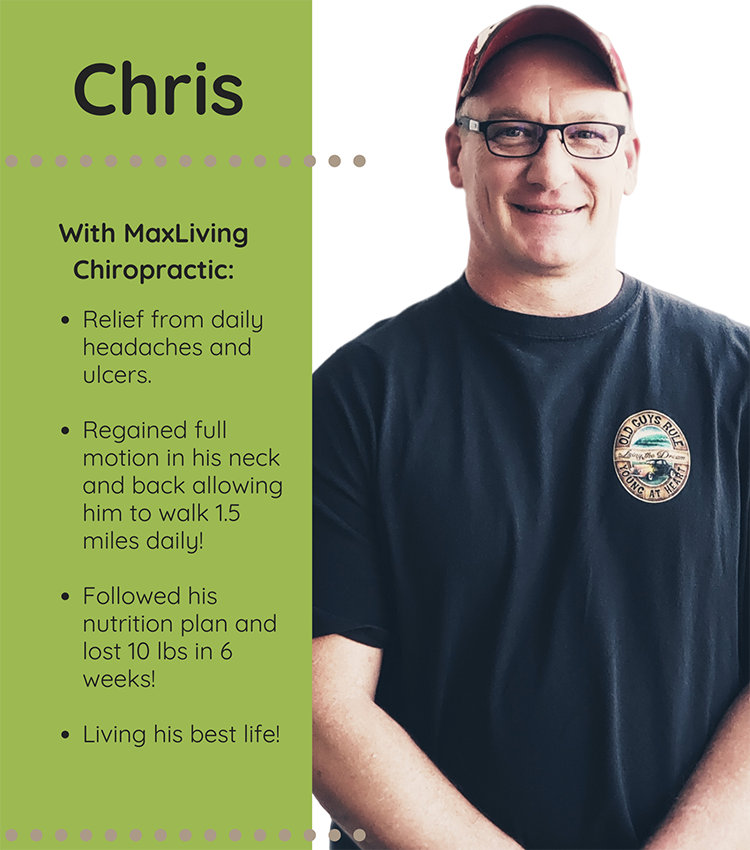 Chiropractic Clemmons NC Patient Testimonial Chris