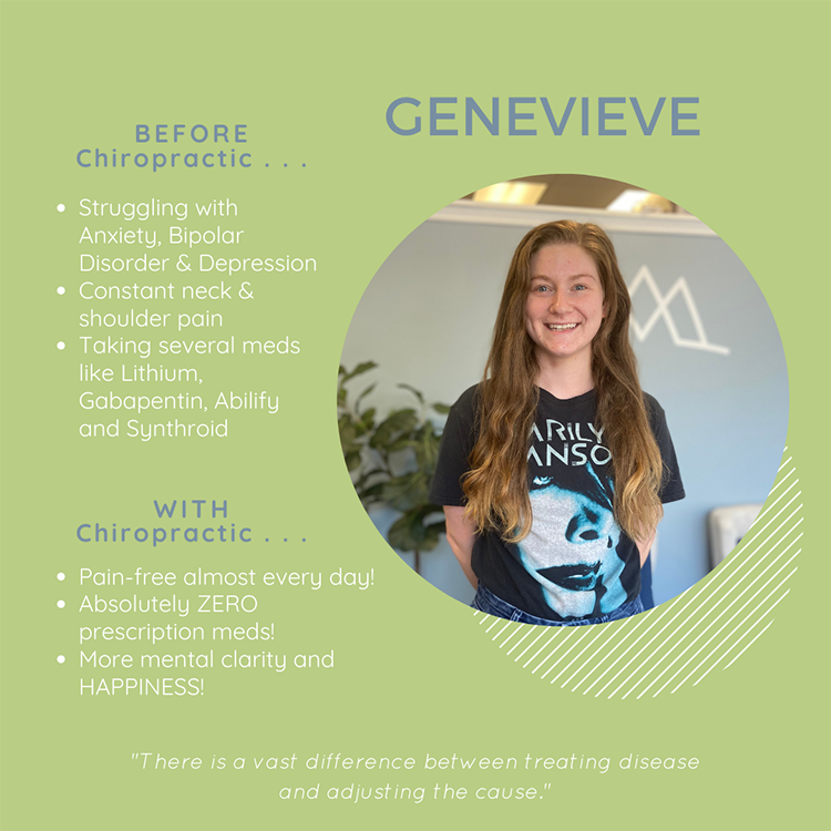 Chiropractic Clemmons NC Patient Testimonial Genevieve