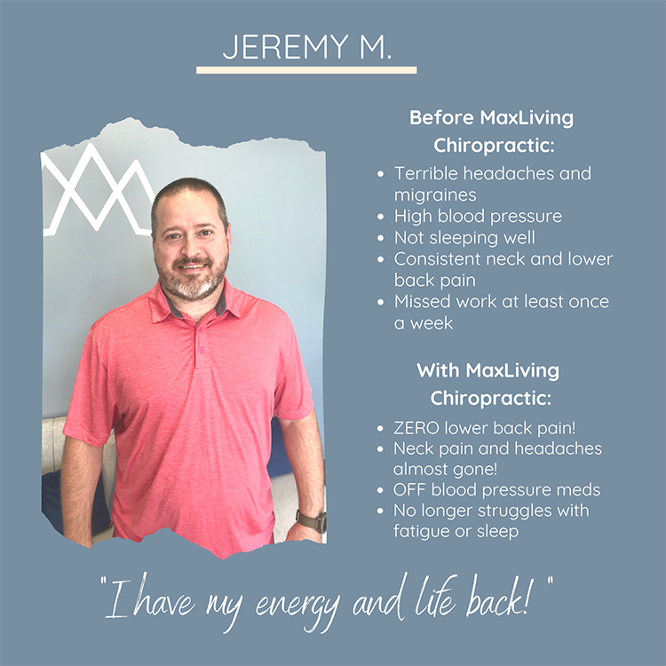 Chiropractic Clemmons NC Patient Testimonial Jeremy M