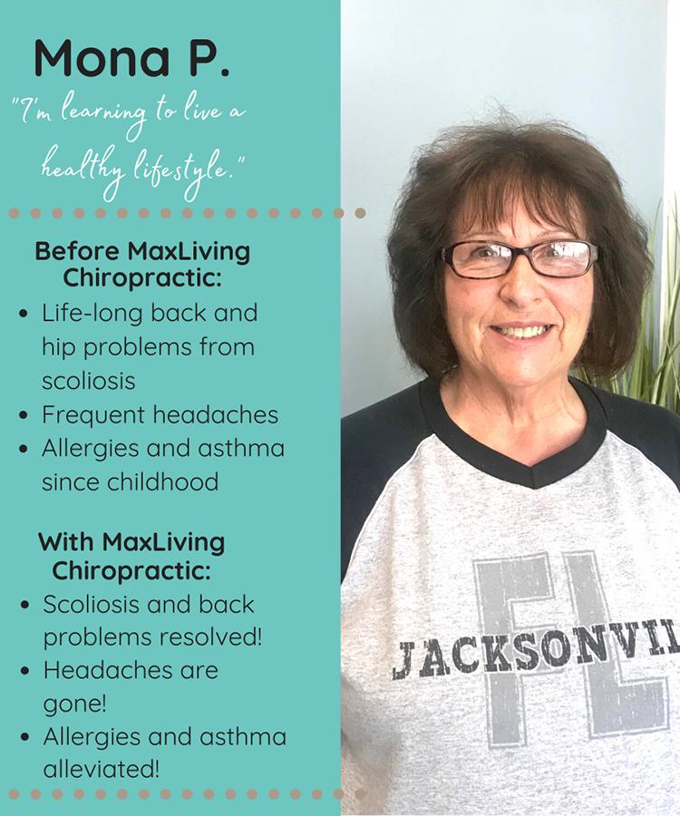 Chiropractic Clemmons NC Patient Testimonial Mona P
