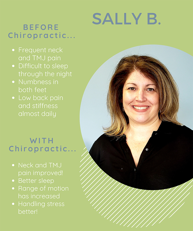 Chiropractic Clemmons NC Patient Testimonial Sally B