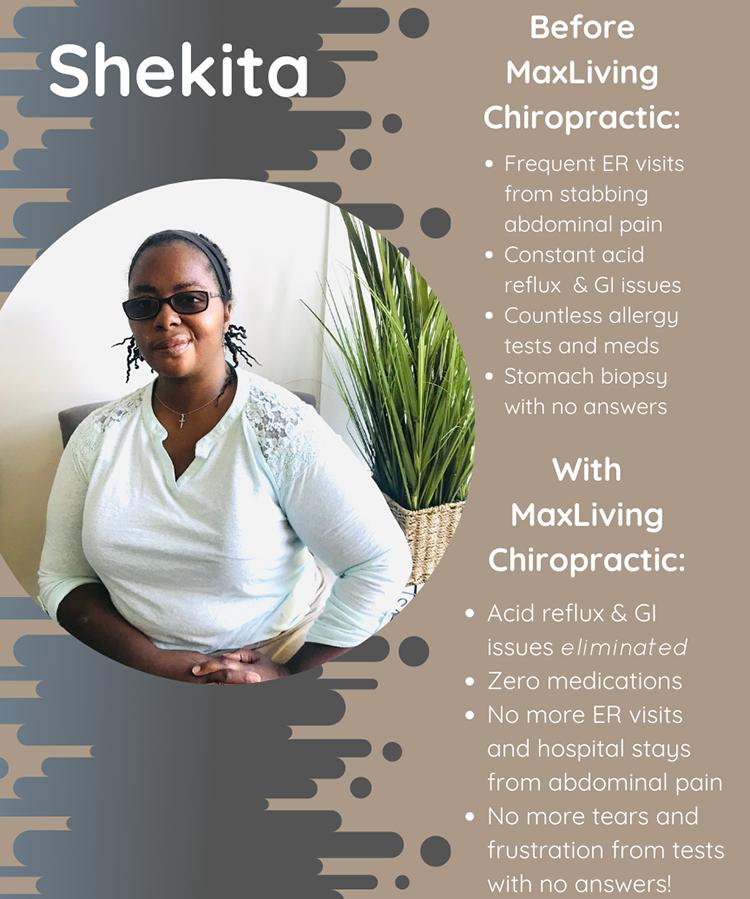 Chiropractic Clemmons NC Patient Testimonial Shekita