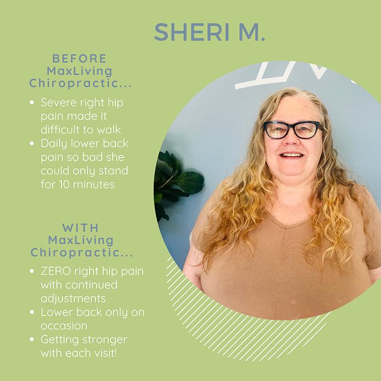 Chiropractic Clemmons NC Patient Testimonial Sheri