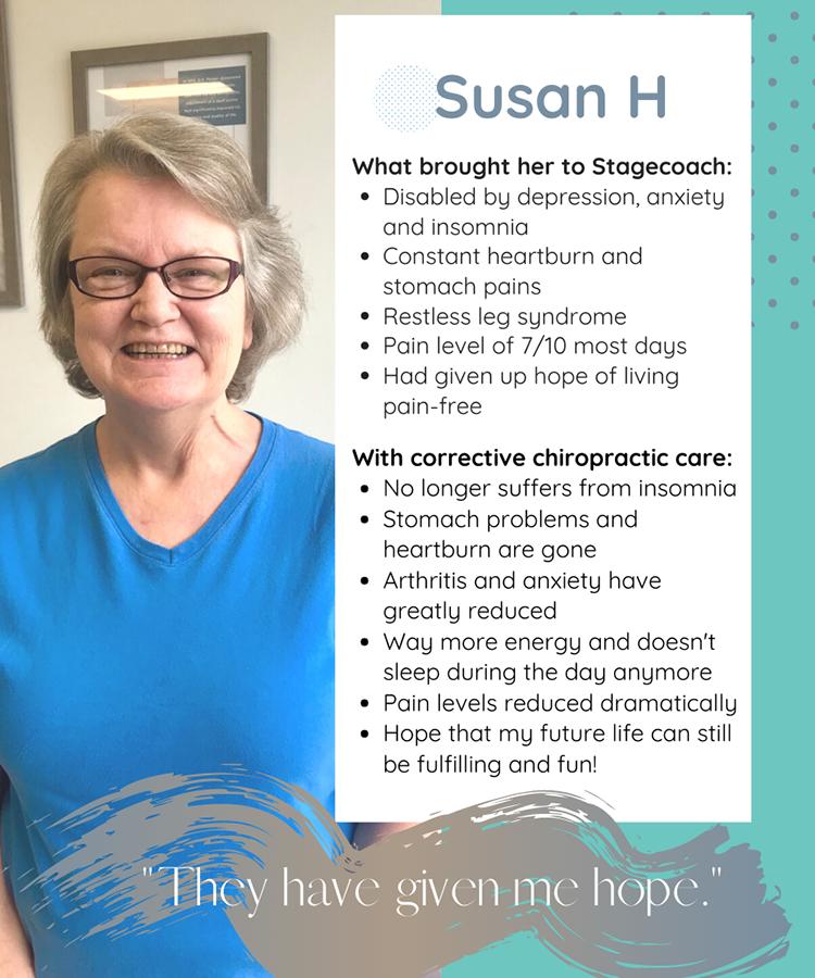 Chiropractic Clemmons NC Patient Testimonial Susan H