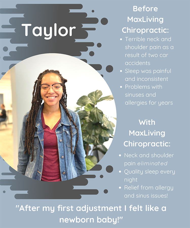 Chiropractic Clemmons NC Patient Testimonial Taylor Rice