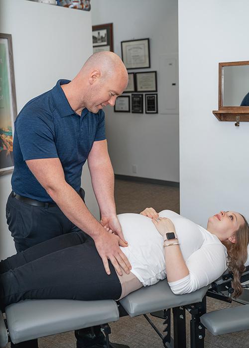 Chiropractor Clemmons NC Jason Barker Prenatal Services Offered