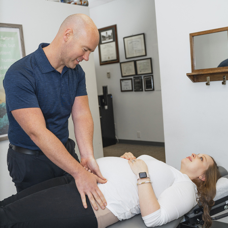 Chiropractor Clemmons NC Jason Barker Service Box HP Prenatal